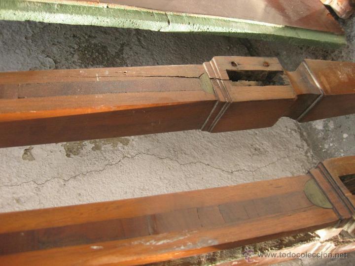 Antigüedades: CABECERO ANTIGUO DE CAMA CON MARQUETERIA Y ESCENA TAURINA - Foto 19 - 43083644