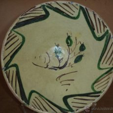 Antiquités: LEBRILLO TERUEL HIERRO Y MANGANESO. Lote 43084515