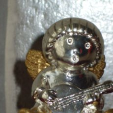 Antigüedades: PEQUEÑA FIGURA ANGEL JOYERIA PLATA DE LEY.. Lote 43085381