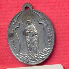 Antigüedades: MEDALLA RELIGIOSA - INMACULADA CONCEPCION EN CAPILLA - SIGLO XIX - ESTADO – EBC. Lote 43087542