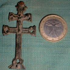 Antigüedades: CRUZ CARAVACA SIGLO XVIII. Lote 43095670