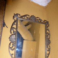 Antigüedades: ESPEJO ANTIGUO DE BRONCE . Lote 43102995