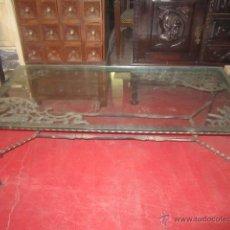 Antiquitäten - Mesa de forja y hierro fundido realizada de forma artesanal. - 27418088