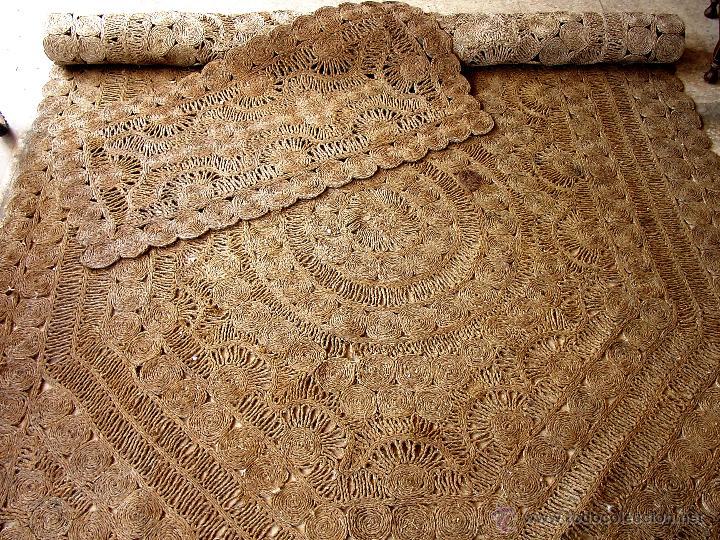 Antiguas alfombras artesanales de esparto comprar alfombras antiguas en todocoleccion 43119515 - Alfombras yute a medida ...