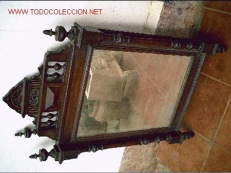 ESPEJO ALFONSINO DEL 1920 (Antigüedades - Muebles Antiguos - Espejos Antiguos)