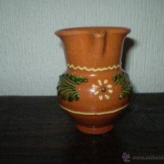 Antigüedades: JARRITA DE BARRO COCIDO Y VIDRIADA. Lote 43129606
