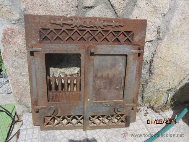 Chimenea hierro fundido segunda mano affordable chimenea estufa elctrica with chimenea hierro - Cassette chimenea segunda mano ...