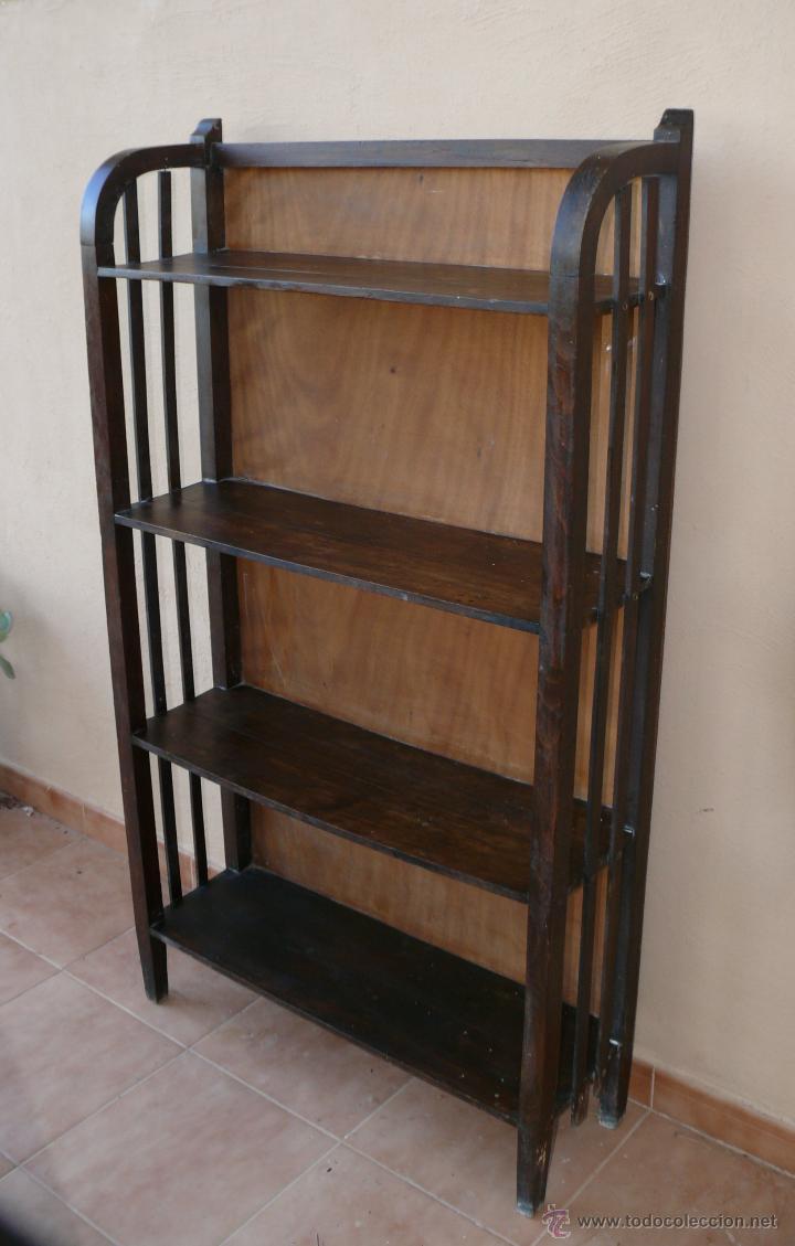 Estanteria libreria circa 1900 antigua modernis comprar - Muebles antiguos malaga ...