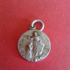 Antigüedades: ANTIGUA MEDALLA RELIGIOSA. A IDENTIFICAR. . Lote 43161516