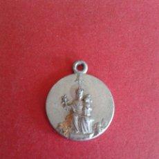 Antigüedades: ANTIGUA MEDALLA RELIGIOSA. A IDENTIFICAR. . Lote 43161519