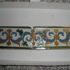 Antigüedades: AZULEJOS DE TOLEDO RENACIMIENTO SIGLO XVI CATALOGADOS. AZULEJO. Lote 43168669