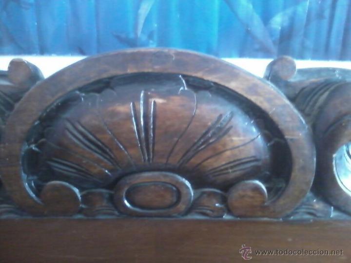 Antigüedades: MUEBLE MADERA APARADOR ANTIGUO mesa a juego - Foto 4 - 43201544