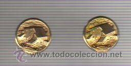 INTERESANTE PAREJA GEMELOS PUBLICIDAD EL CASEIRO - QUESO -LACTEOS (Antigüedades - Moda - Gemelos Antiguos)