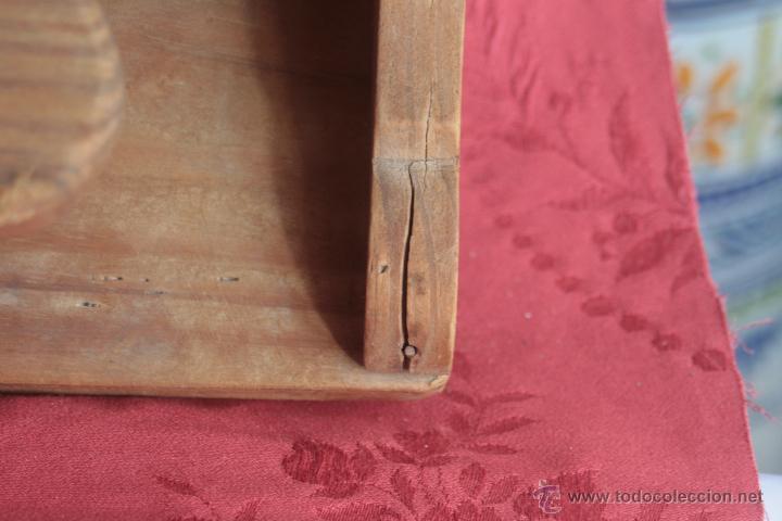 Antigüedades: PERCHERO DE MADERA ANTIGUO - Foto 7 - 43242291