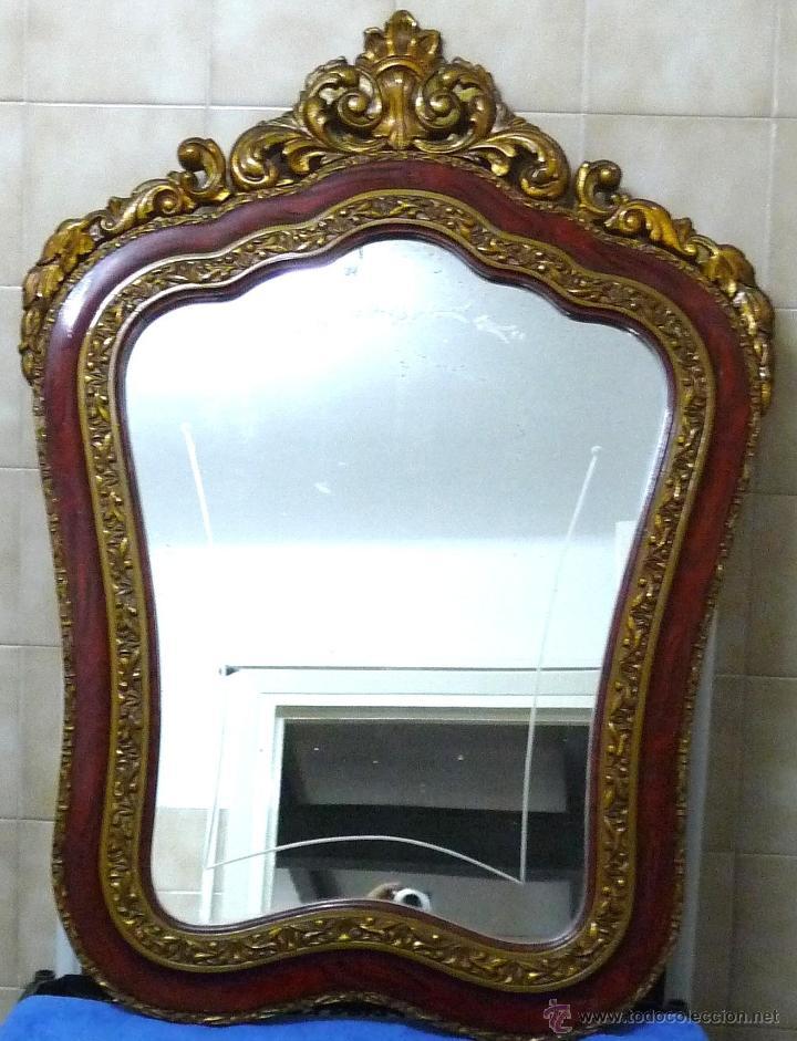 Antigüedades: CONJUNTO MUEBLES RECIBIDOR - AÑOS 40/60 - Foto 2 - 43250238