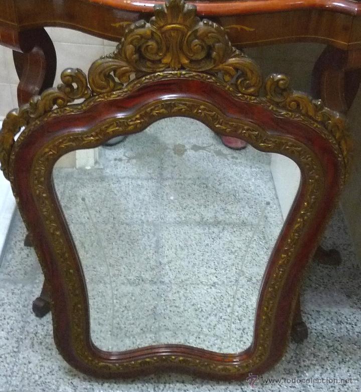 Antigüedades: CONJUNTO MUEBLES RECIBIDOR - AÑOS 40/60 - Foto 4 - 43250238