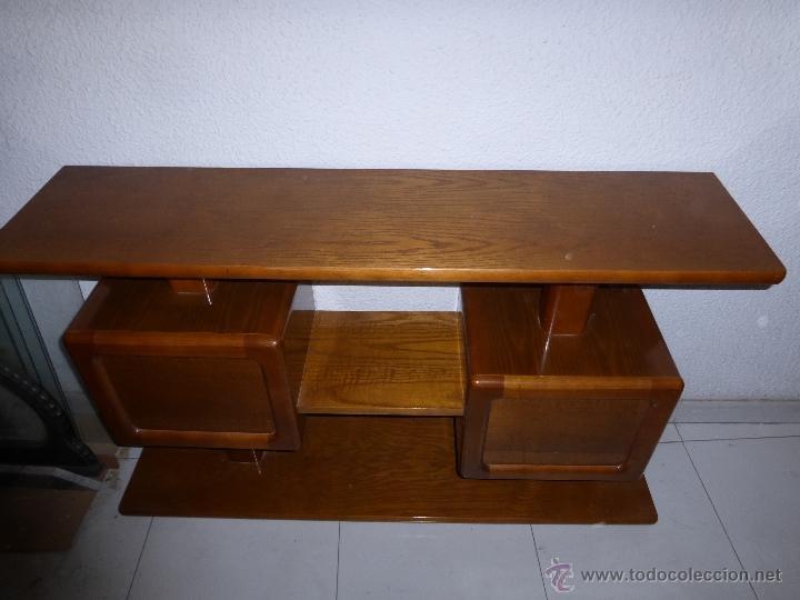 Mueble de entrada en roble comprar consolas antiguas en for Consolas antiguas muebles