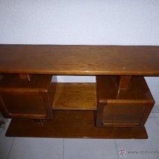 Antigüedades: MUEBLE DE ENTRADA EN ROBLE. Lote 64540146