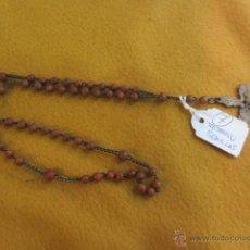 Antigüedades: ROSARIO DE SEMILLAS. Lote 43267669