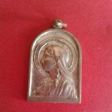 Antigüedades: MEDALLA RELIGIOSA A IDENTIFICAR. PLATEADA. . Lote 43275157
