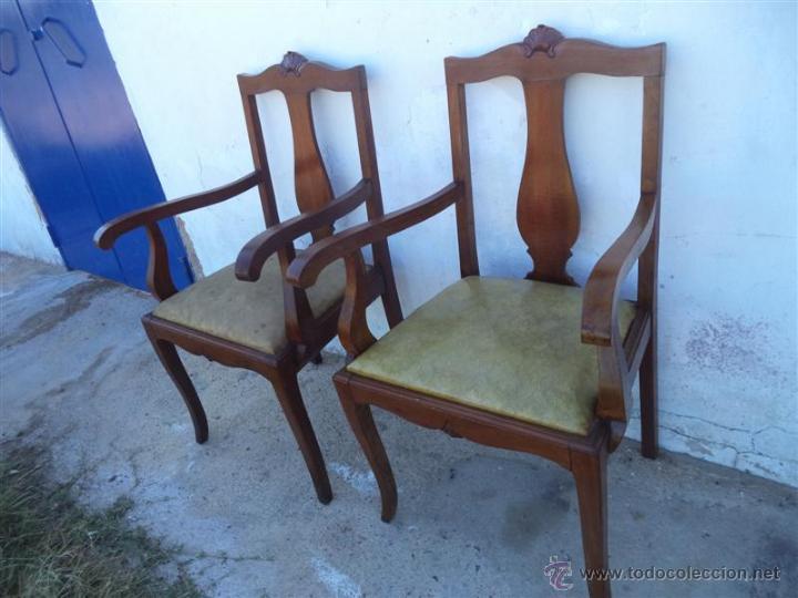 Antigüedades: parejas de sillones antiguos - Foto 2 - 43293655