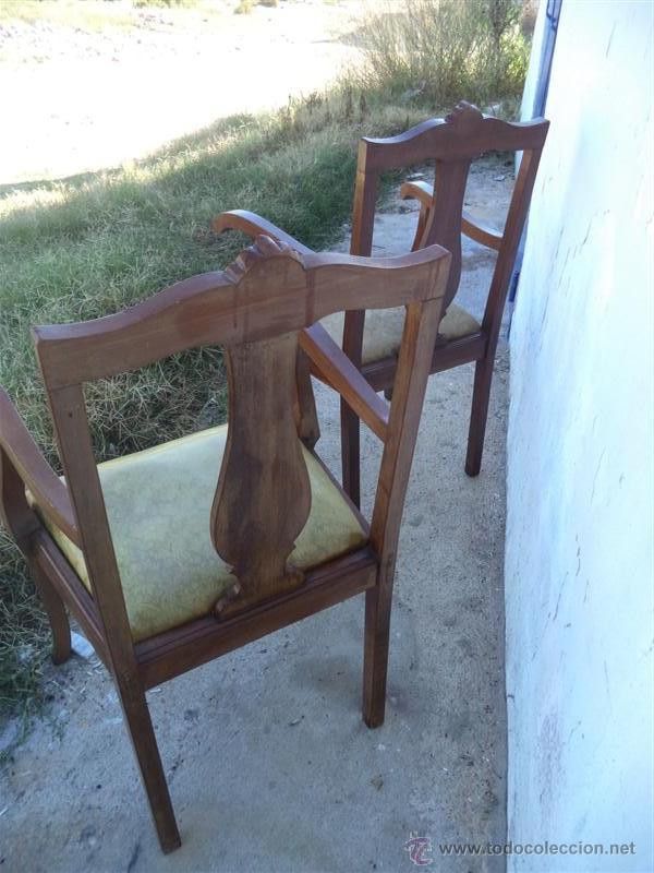 Antigüedades: parejas de sillones antiguos - Foto 4 - 43293655