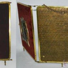 Antigüedades: EXCEPCIONAL ESPEJO DE MESA, REALIZADO EN BRONCE, FABRICADO EN FRANCIA A FINALES DEL SIGLO XIX. BRONC. Lote 43302766