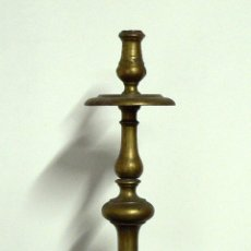 Antigüedades: CANDELERO DE BRONCE. S.XVII - XVIII.. Lote 43304755