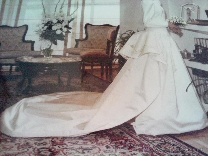 antiguo vestido de novia años 20/30 diseñado en - vendido en venta