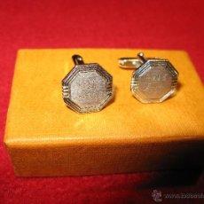 Antigüedades: GEMELOS OCTAGONALES. Lote 43329587