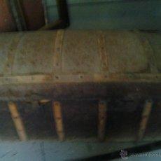 Antigüedades: BAUL BOMBE DE LOS AÑOS 20 -30. Lote 43337710
