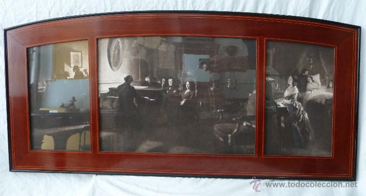 marco largo dividido en 3 ventanas - lámina de - Comprar Marcos ...