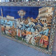 Antigüedades: TAPIZ DE LOS AÑOS 70. Lote 43342646