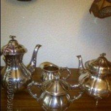 Antigüedades: JUEGO DE CAFE EPNS. Lote 108908840