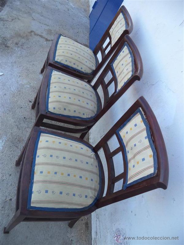 Antigüedades: 3 sillas antiguas - Foto 2 - 43375728