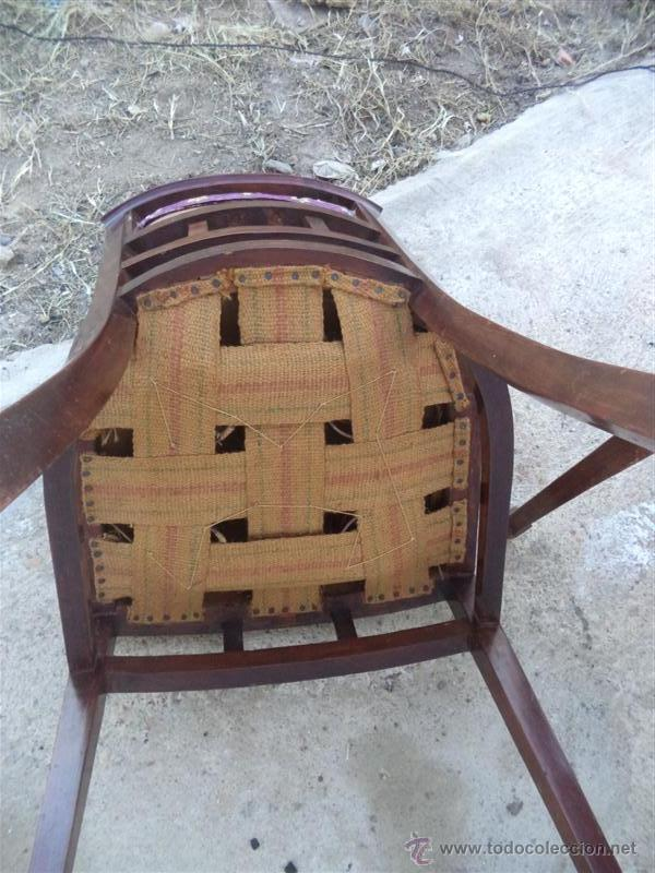 Antigüedades: 3 sillas antiguas - Foto 3 - 43375728