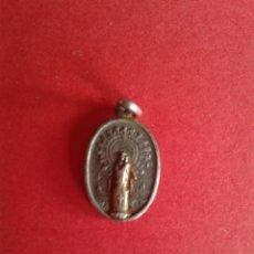 Antigüedades: ANTIGUA MEDALLA DE LA VIRGEN DEL PILAR. PLATA 1,2 GRAMOS.. Lote 43385509