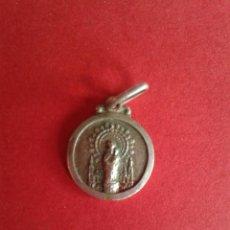 Antigüedades: ANTIGUA MEDALLA DE LA VIRGEN DEL PILAR. PLATA 1,2 GRAMOS.. Lote 43385525
