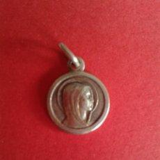 Antigüedades: ANTIGUA MEDALLA DE LA VIRGEN DE LOURDES. PLATA 1,2 GRAMOS.. Lote 43385563