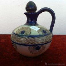 Antigüedades: BOTELLA ANTIGUA EN PIEDRA ARENISCA PRIMER MITAD DEL SIGLO XX. Lote 43387984