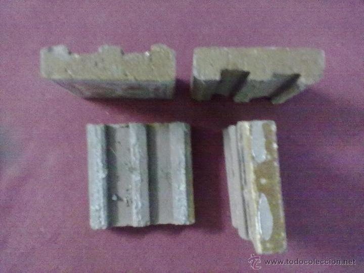 Antigüedades: 4 BALDOSAS AZULEJOS OLAMBRILLAS SER FANTASTICO DRAGON - Foto 3 - 43390548