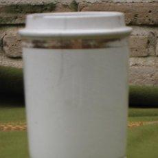 Antigüedades: BOTE ANTIGUO DE FARMACIA EN PORCELANA.. Lote 43408900