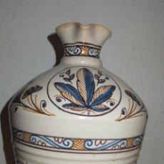 Antigüedades: JARRA ALCUZA O ACEITERA CERÁMICA PUENTE ARZOBISPO SIGUIENDO MODELO SERIE TRICOLOR DEL S, XVII. Lote 43409702