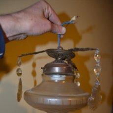 Antigüedades: ANTIGUEDADES LAMPARAS - LAMPARA DE UNA LUZ. Lote 43426264