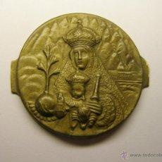 Antigüedades: PLACA PARA PUERTA DE LA VIRGEN DE MONTSERRAT, AÑOS 20-30.. Lote 43427833