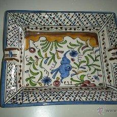 Antigüedades: CENICERO CON MOTIVOS ÁRABES. . Lote 43441881