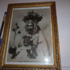 Antigüedades - CUADRO MARCO MADERA DORADO DE MARE DE DEU DE MONTSERRAT - 43442888