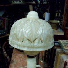 Antigüedades: LAMPARA DE ALABASTRO. Lote 43444666