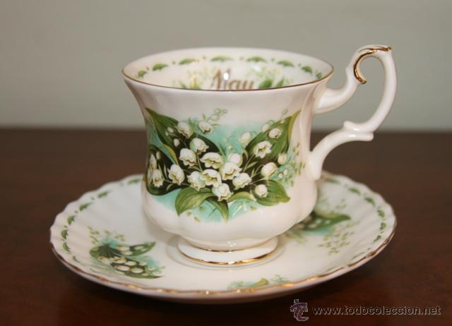 Taza c plato porcelana inglesa mes mayo comprar - Porcelana inglesa antigua ...