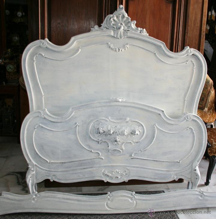 Cama luis xv de 1900 decap comprar camas for Cama luis xv